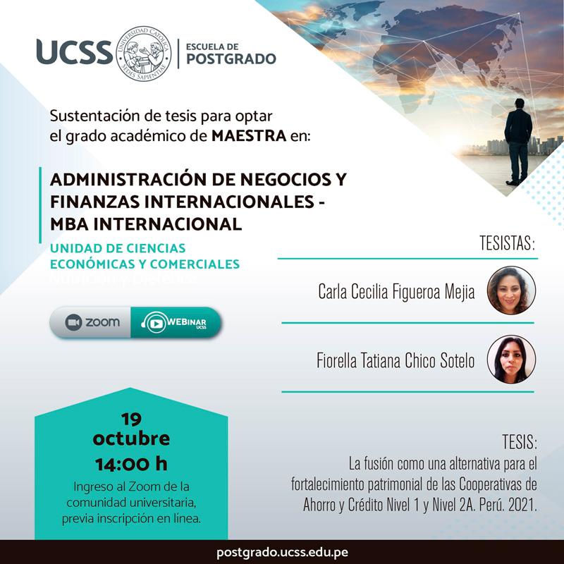 Eventos de la Unidad de Ciencias Económicas y Comerciales